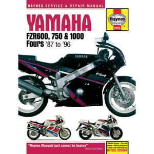 Haynes Repair Manual - Yamaha FZR600/750/1000 - 2056