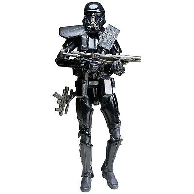"""6"""" Star Wars Story Rogue1 Imperial Death Trooper Action Figure Toy Black Series"""