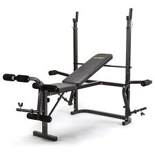 NEW HPF Multi-Station Weight Bench- Home Gym Weights Leg Curl Press Equipment