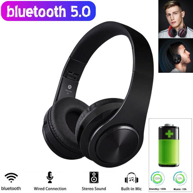 Over-Ear Kopfhrer Bluetooth Kopfhörer Kabellos Hifi Stereo Bass Faltbare Headset
