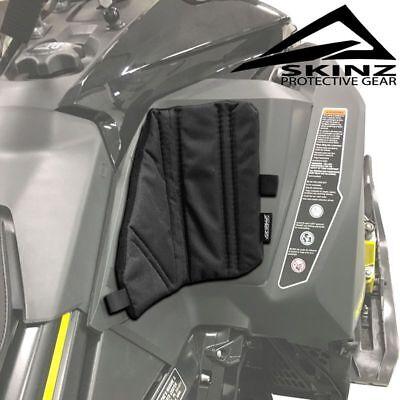 Skinz Pro-Series Black Console Knee Pads - 2017-2019 Ski-Doo 850 MX-Z RGD Summit ()