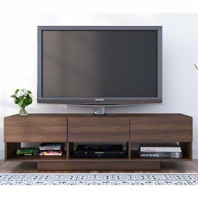 "Nexera 105131 Rustik 3 Drawers TV Stand, 60"", Walnut"