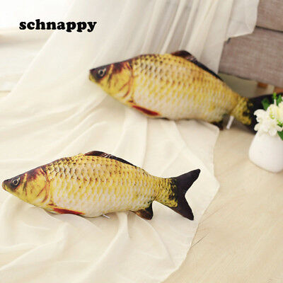 Funny Simulation Carp Kids Plush Toy Stuffed Fish Animal Toy Pillow for Baby New - Plush Fish
