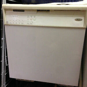 Never used Whirlpool Dishwasher