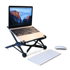 Laptop Stand - Portable Foldable & Height Adjustable MacBook/PC
