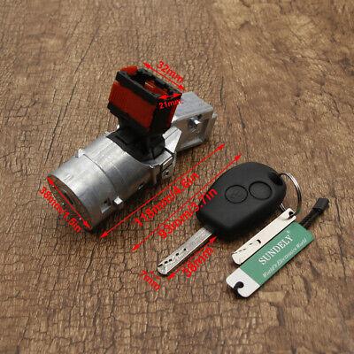 UK Ignition Lock Barrel Starter Switch For Renault Master Trafic Vauxhall Vivaro