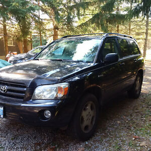 2004 Toyota Highlander Limited V6 7-Seater SUV, Crossover