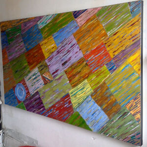 "Beautiful Modern Oil Painting -40x60"" - New Price!"