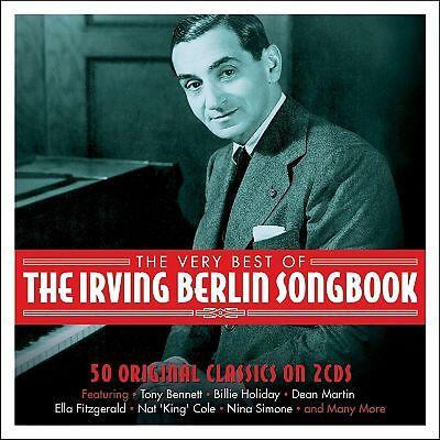Irving Berlin Songbook VERY BEST OF Various Artists 50 ESSENTIAL SONGS New 2 CD