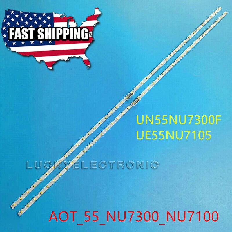 LED Strips(2)for UE55NU6900 UN55NU6900 UE55NU7400 UN55NU7300 UE55NU7300 55NU7100