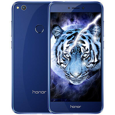New 32GB Huawei Honor 8 Lite Unlocked Dual SIM Smartphone Android 7.0 - Blue US