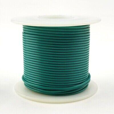 24 Awg Gauge Stranded Green 300 Volt Ul1007 Pvc Hook Up Wire 100ft Roll 300v