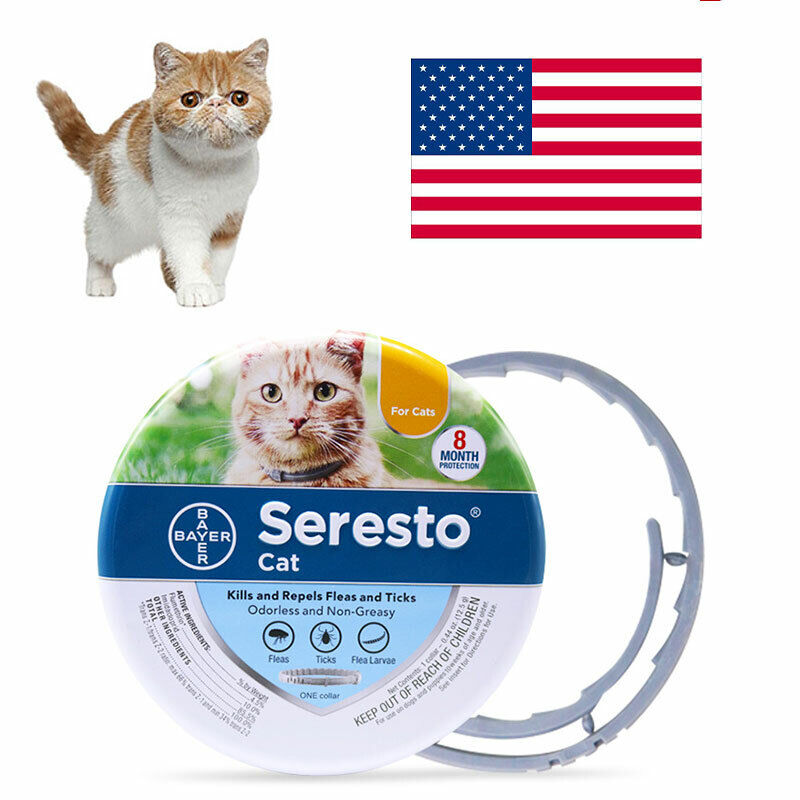 New Bayer For 8 Month Cat One Protection Collar Against Seresto Fleas And Ticks