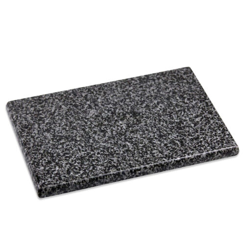 Home Basics Granite Stone Kitchen Non Slip Cutting Board 12″ x 16″ Black & White Cutting Boards