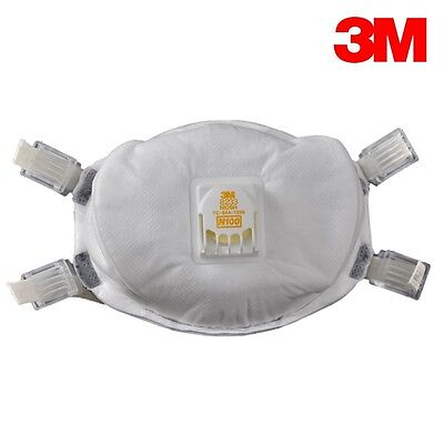 3m 8233 N100 Particulate Respirator - 1 Individual Mask Free Us Shipping