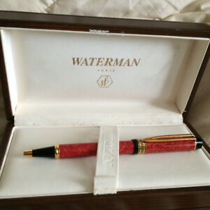Waterman Patrician Ball Point Pen Cardinal Red New Old stock.