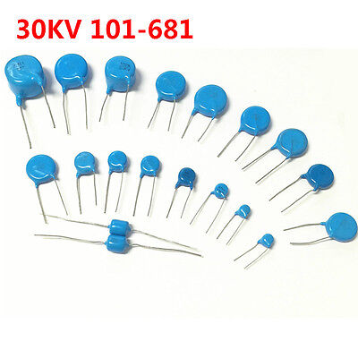 30kv 102 103 151 221 222 331 332 471 472 101-681 High-voltage Ceramic Capacitor
