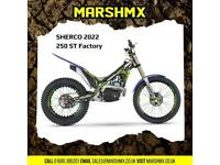 Sherco ST 250 Factory Trails 2022 Model - Nil Deposit Finance Available