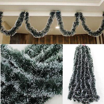 Xmas Tree Ornament Decoration Holiday Party Christmas Dark Green Ribbon Decor