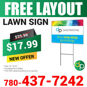 Amazing Sale, Printing Services, Flyers, Signs, Banners, Decals. Edmonton Edmonton Area image 4