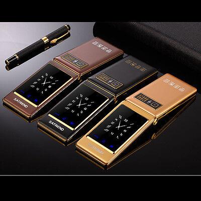 - A15 flip big screen Dual screen Quad Band Dual SIM Card GSM digital mobile phone