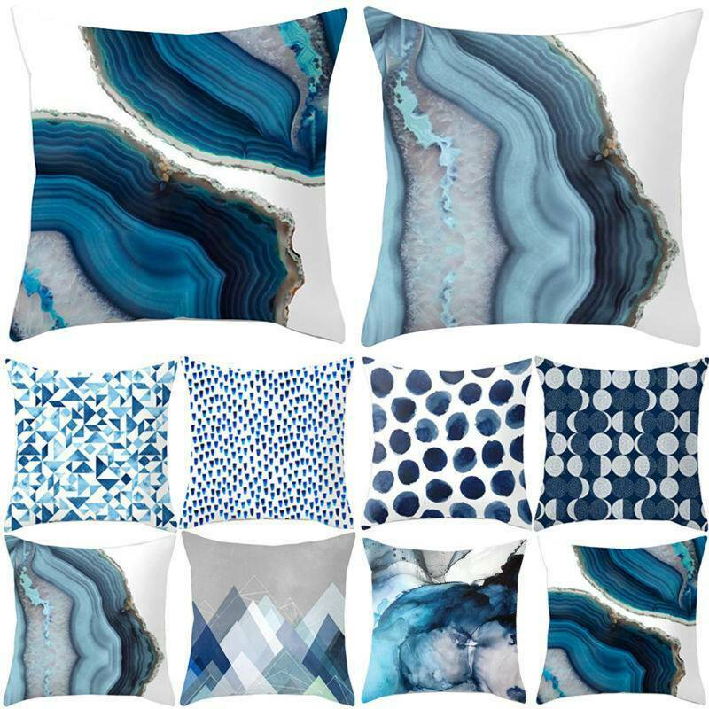 Simple Sofa Cushion Cover Square Pillow Case Pillowcase Home