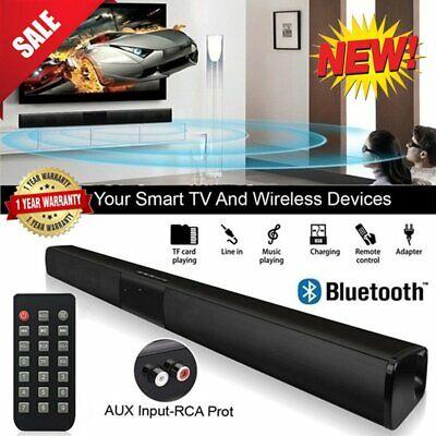 Wireless Bluetooth TV Sound Bar Heimkino Soundbar System Hifi Subwoofer mit