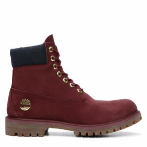 BNIB Timberland Men's 6 Inch Waterproof Bordeaux Boot Size 10.5