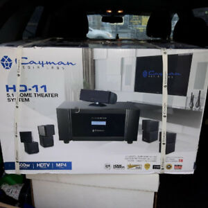 BRAND NEW IN THE BOX CAYMAN MEDIA  5.1 HOME AND PROFESSIONAL THE