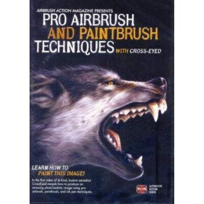 Airbrush DVD Learn how to paint this image 220 020 - Airbrush Dvd