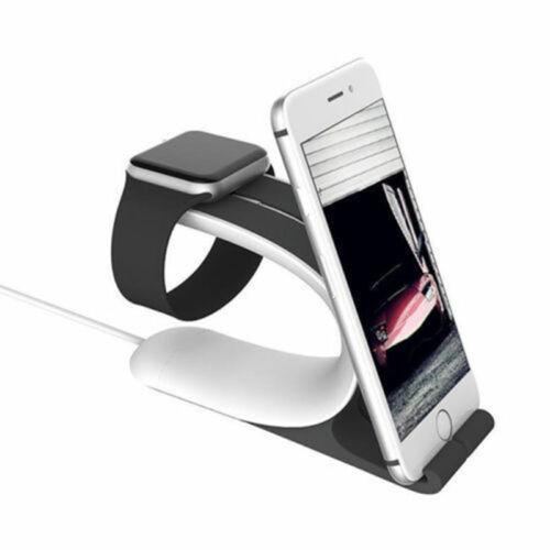 Useful Mobile Phone Watch Plate Bracket Accessory Dock Stand Charging Holder Kit