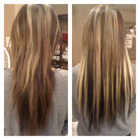 Hair extensions only $250!!