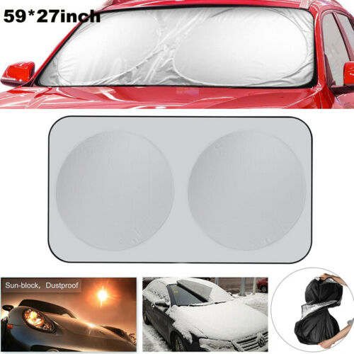 Auto Car Front Window Sun Shade Visor Windshield Block Cover Protector 150x70 CM