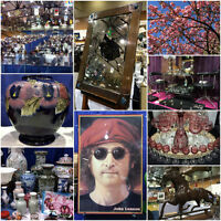 KERRISDALE ANTIQUES FAIR - Sat & Sun - APRIL 8 & 9 - 10am-5pm