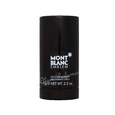 Mont Blanc Emblem Deodorant Stick For Men 2.5oz 75g * Sealed * Low Ship