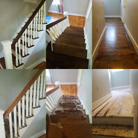 Professional Flooring and Staircase Refinishing