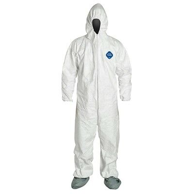 Malt Disposable Tyvek Protective Clothing Suit Coveralls - 2xl