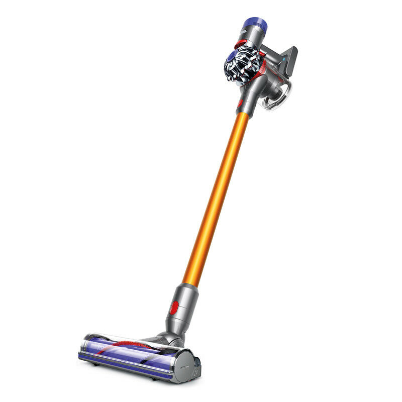 Dyson V8 Absolute Cordless HEPA Vacuum Cleaner + Fluffy Soft