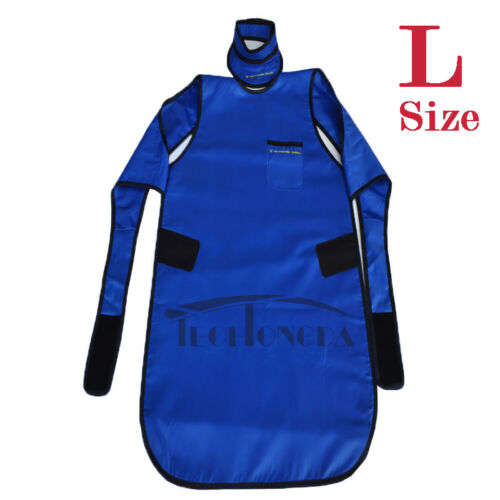 L Size 0.35mmpb X-Ray Protection Apron No-lead Protective Vest + Collar