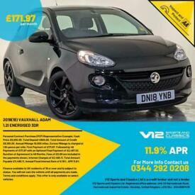 image for 2018 VAUXHALL ADAM HATCHBACK ENERGISED APPLE CAR PLAY CRUISE CONTROL 1 OWNER