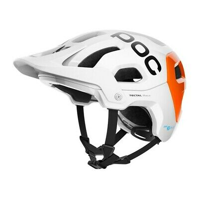 POC - Tectal Race SPIN NFC - Farbe: hydrogen white/orange - S...