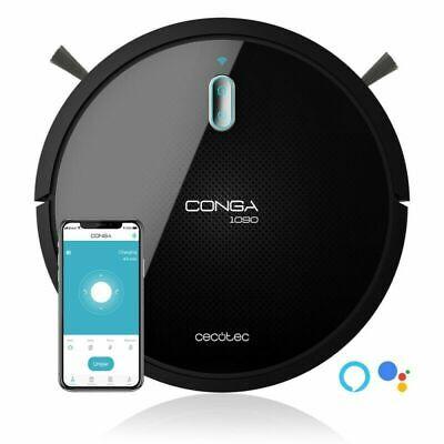 CECOTEC robot aspirador Conga 1090 CONNECTED FORCE / Wifi app / 4 en 1 / 1400pa
