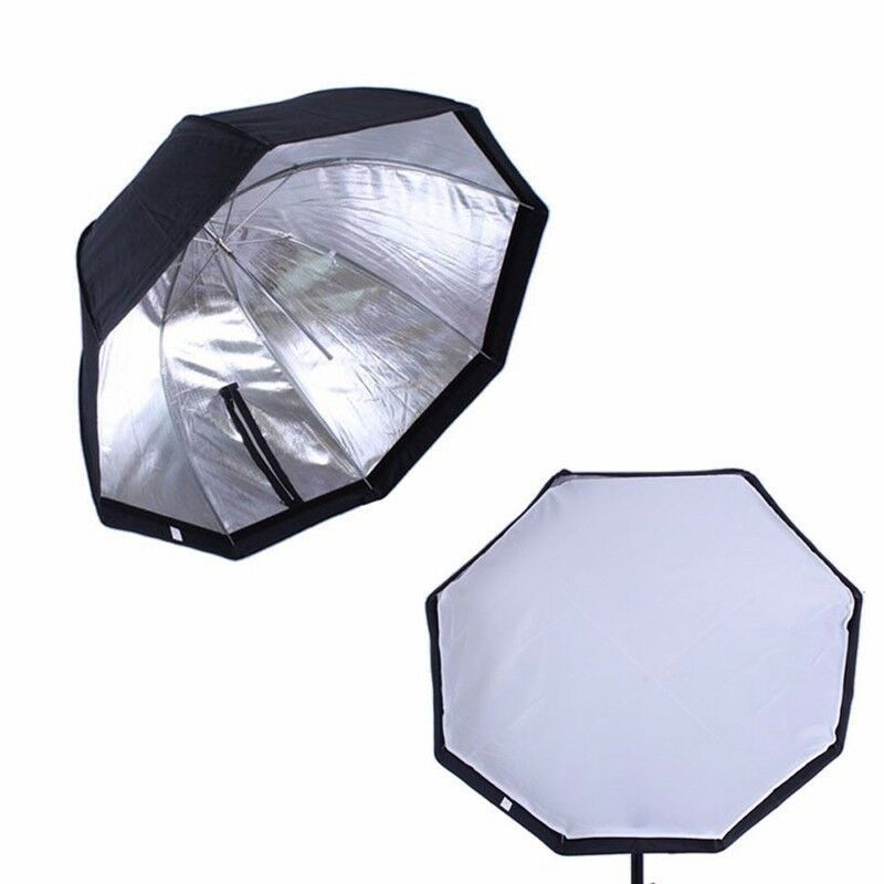 "Photo Studio 30"" Octagon Umbrella Speedlite Softbox Flash Lighting Diffuser"