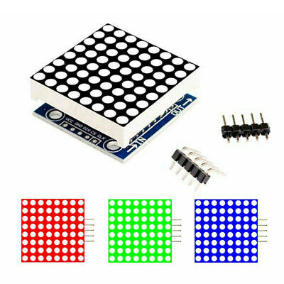 Max7219 Dot Array Mcu Control Led Display Module For Arduino Raspberry Pi 5 V