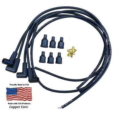 Avery Spark Plug Wire Set Premium Copper Core Made In Usa
