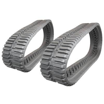 Pair Of Prowler Loegering Vts 54 Links At Tread Rubber Tracks - 320x86x54 - 13