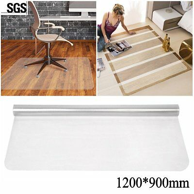 900X1200 Frosted Non-Slip Office Chair Desk Mat Floor Carpet Proector PVC Clear