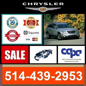 Chrysler Pacifica ■ Fenders and Bumpers ► Ailes et Pare-chocs