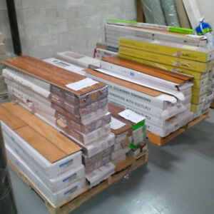 Lots of flooring available at Markham East ReStore
