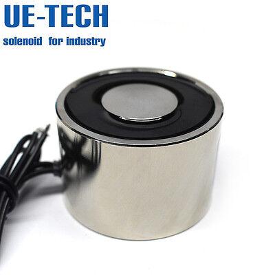Ue-tech Dc24v 900n 90kg 198lb Force Holding Solenoid Electromagnet Ue-6040